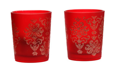 two red candlesticks with interesting pattern