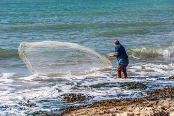 Pesca con rete 3