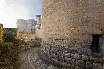 Castillo de Cuellar. Segovia. España.
