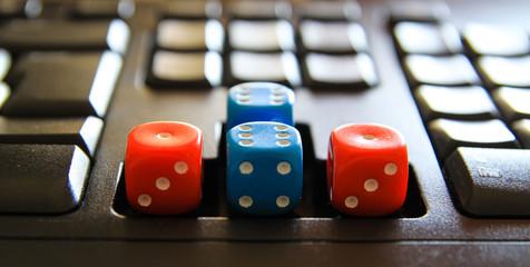 keyboard dice
