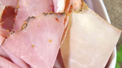 Rotating boiled Ham (loopable)