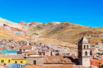 View of Potosi, Bolivia