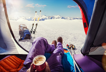 Sport. Skiing. Tourism