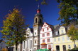 Leinwanddruck Bild - Hachenburg, Westerwald, am Marktplatz