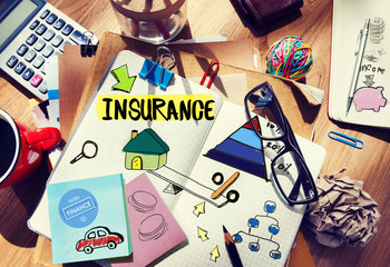 Insurance Guarantee Life Risk Protection Safety Security Concept