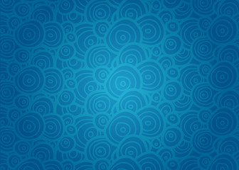 Abstract doodle background.