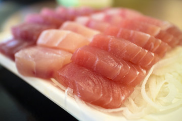 japanese food sashimi raw fish