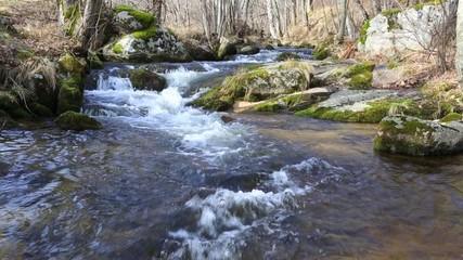 et une rivière....