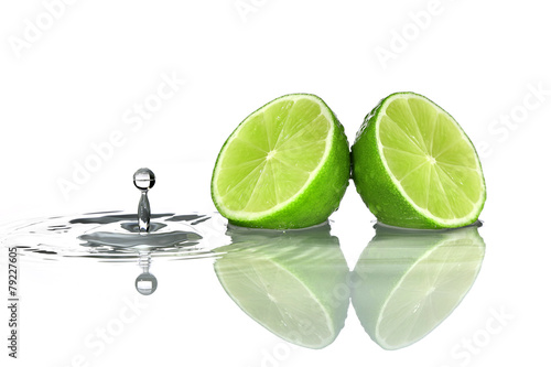 Lime with water drop © i_arnaudov