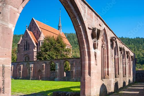 Plexiglas Rudnes Kloster Hirsau
