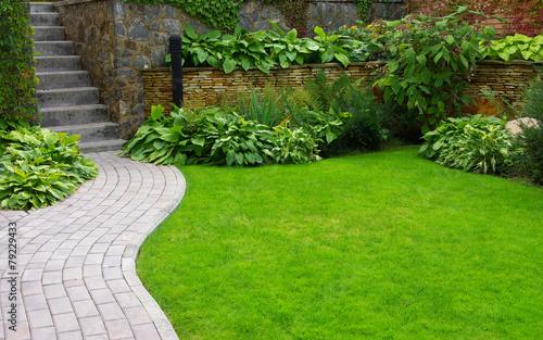 Foto op Plexiglas Tuin Garden