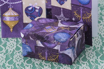 Recycled napkins handmade items