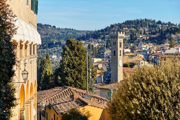 Fiesole near Florence, Tuscany Italy