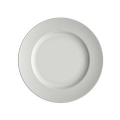 vector image porcelain plates