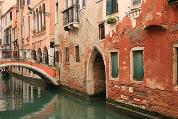 venezia canale e ponte