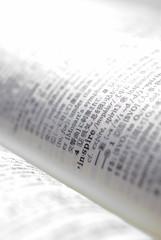 英和辞書のinspireのページを開く