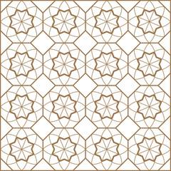 Yıldız Geçme Geometrik Arka Plan Deseni