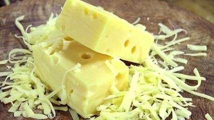 Grated Emmental (not loopable)