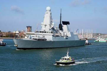 Type 45 navy destroyer
