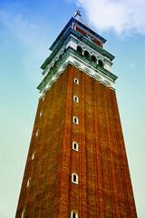 san marco tower at venezia