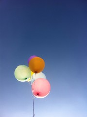 color balloon