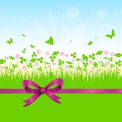 floralfrühjahr,frühling,blumenwiese,wiese,klee,kleeblatt,floral