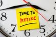 obraz - time to retire