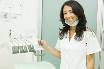 Female Odontologist