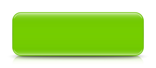 long light green button template with reflection