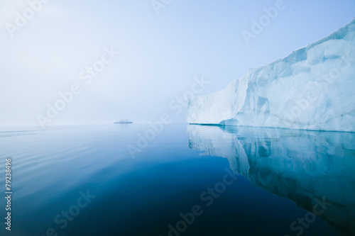 Glaciers and icebergs