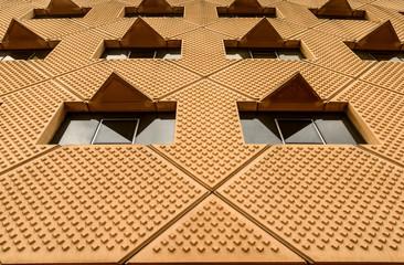 modern building wall pattern