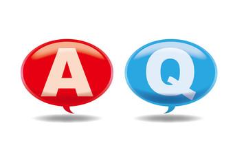 アイコン 吹出し Q&A