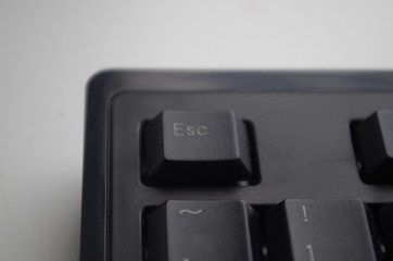 Black keyboard keys