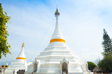 Wat Phatat Doi GongMu in Mae Hong Son Province,the most favourit