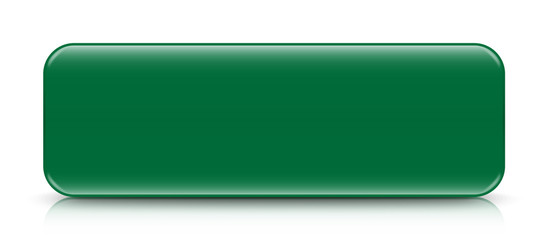 long green button template with reflection
