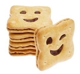 Keks mit Smiley