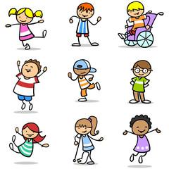 Integration und Inklusion vieler Kinder