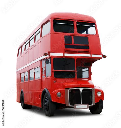 Leinwanddruck Bild Londonbus