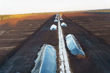 Turf mining