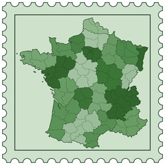 France on stamp