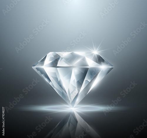 Vector diamond - 79248217