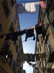 Wäscheleinen in Venedig