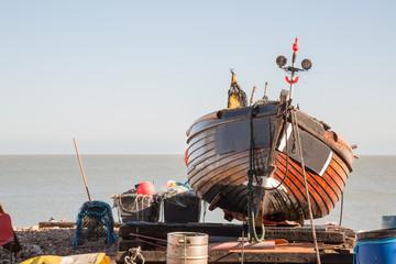 Fishing Boat in Deal, Kent, UK,