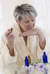 Aromatherapie senior