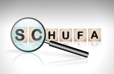 Lupe - Schufa