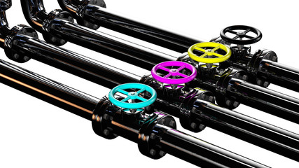 cmyk pipes