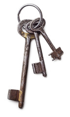 Bunch of antique keys