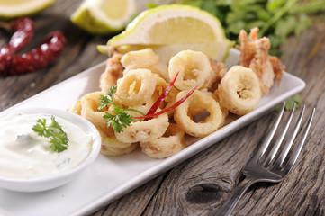Traditional Fried Calamari