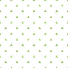 Day Patrick festive background pattern green Shamrock