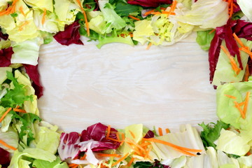 Cornice di insalata